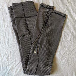 Lululemon full length legging with zipper …